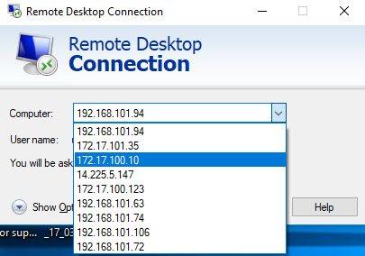 cách xóa ip đã dùng khi kết nối vps