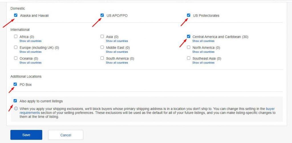 chia sẻ cách cài đặt tài khoản ebay