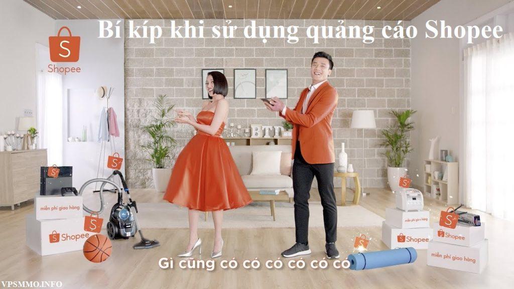 cách sử dụng quảng cáo trên shopee hiệu quả