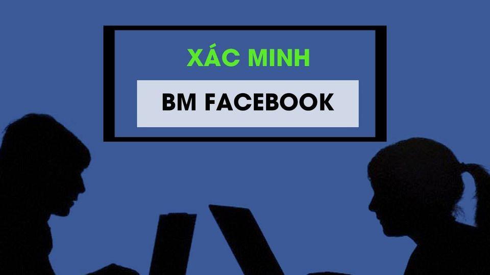 quy trình xác minh bm facebook