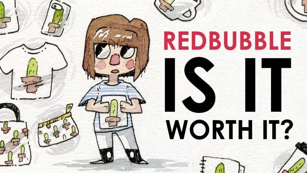 cách kiếm tiền với Redbubble