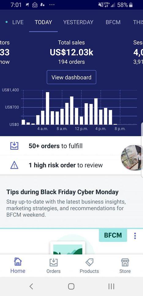 kinh nghiệm làm Shopify Dropshipping