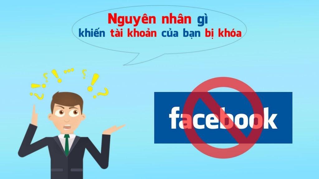 Những nguyên nhân dẫn đến tài khoản quảng cáo facebook bị khóa