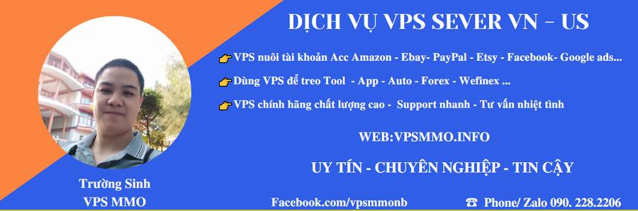 Cung cấp các loại VPS Việt Nam và US dành cho dân MMO giá rẻ cạnh tranh hỗ trợ nhanh