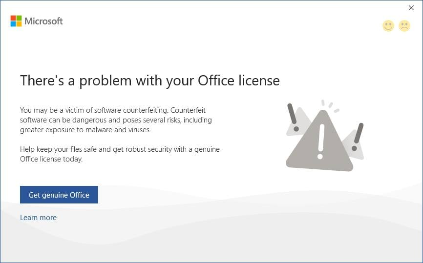 Cách sửa lỗi Your license is not genuine của Office