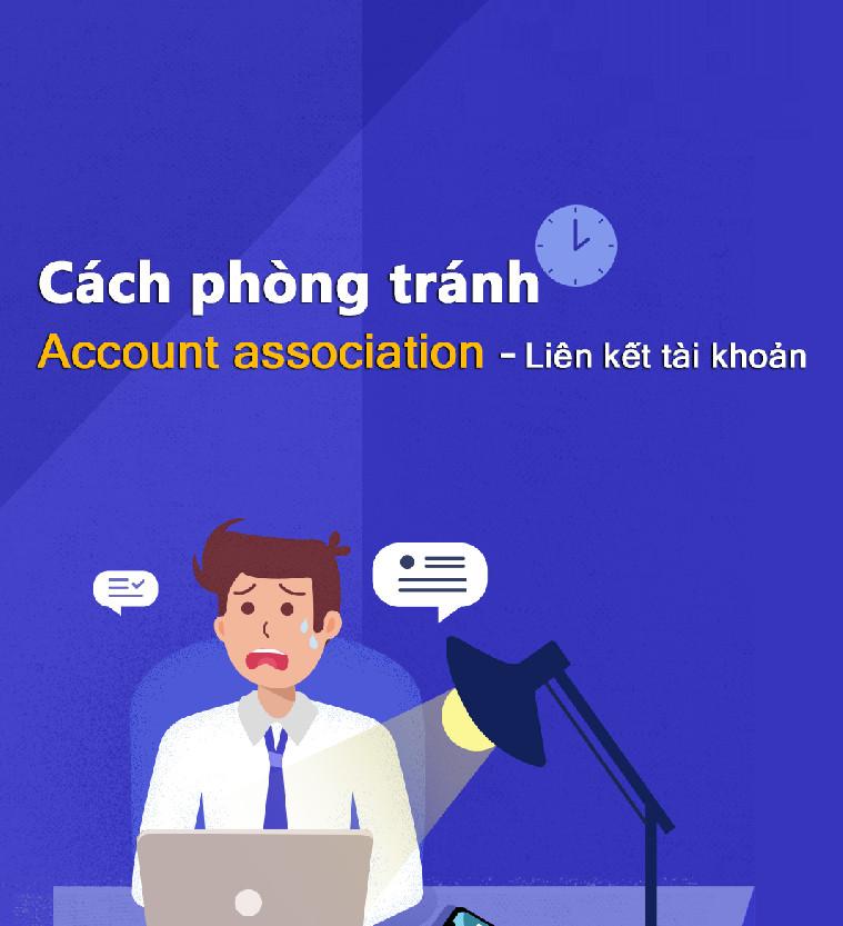 phòng tránh liên kết tài khoản amazon hiệu quả