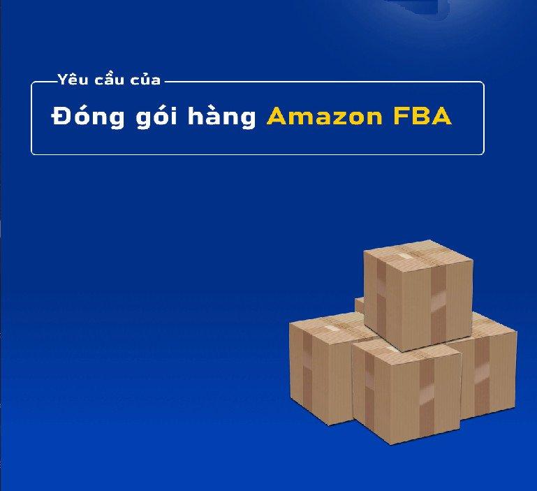 đóng gói sản phẩm amazon fba