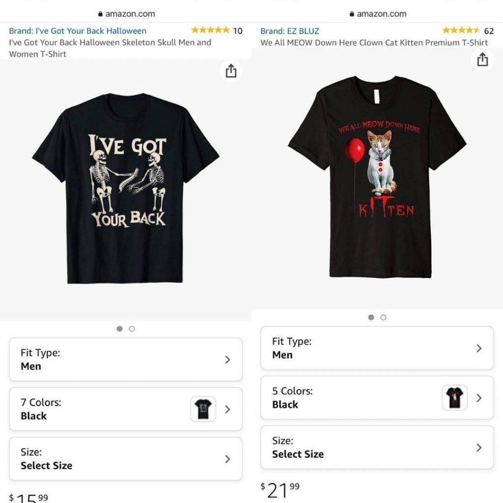 Vấn đề bán TM / CP (copyright) trên merch by Amazon