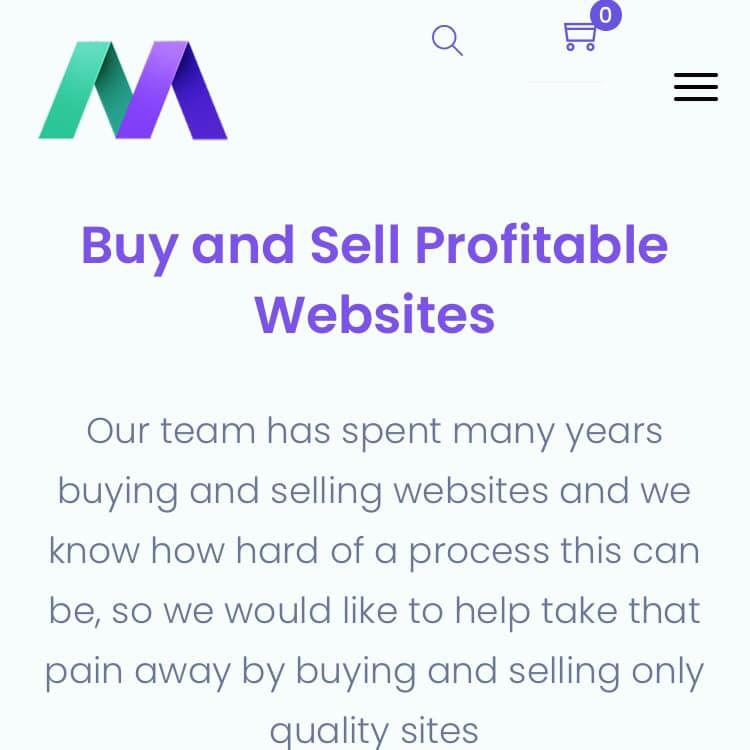 dịch vụ mua bán site của sàn Motion Invest
