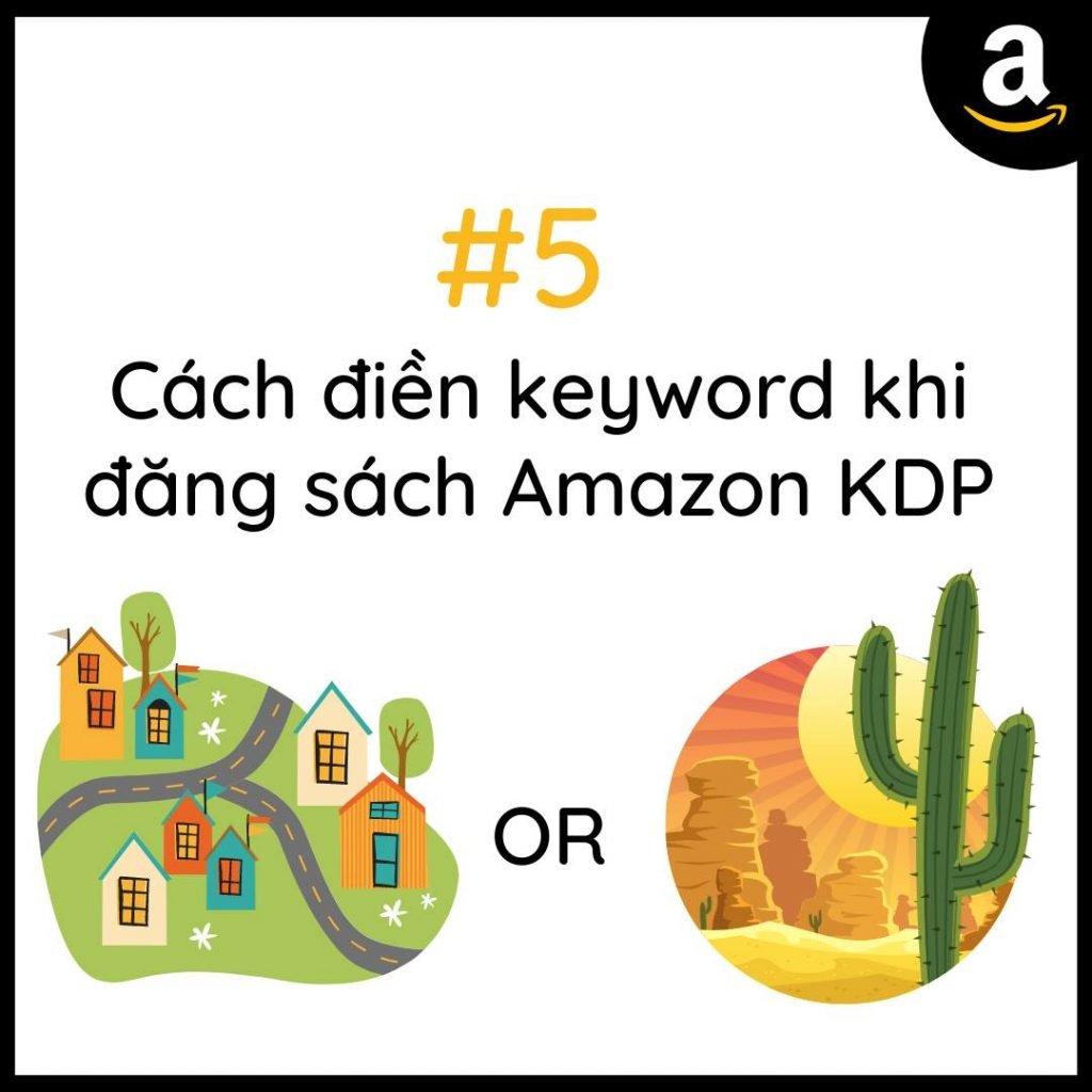 Cách điền keyword khi đăng sách Amazon KDP